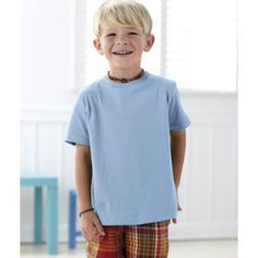 Rabbit Skins 3321 Toddler 4.5 oz. Fine Jersey T-Shirt  Features:  Rabbit Skins 3321 Toddler Fine Jersey T-Shirt is perfect for a toddler's sensitive, smooth skin. Attractive colors: Available in 23 spectacular colors. Made with 4.5 oz. 100% combed ringspun cotton Jersey. Shoulder-to-shoulder Taping and easy-tear label offers ultimate comfort. Top stitched ribbed collar and Heather is 93/7 cotton/ Polyester. Available sizes: 2T, 3T, 4T, 5/6