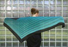 """I added """"Frl. Rolles Stripe Study Shawl"""" to an #inlinkz linkup!http://knitterhagel.de/fertig-stripe-study-shawl/"""