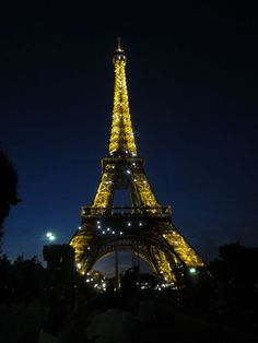 Sparkling Eiffel Tower - Paris, France