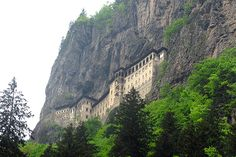 The Sumela Monastery, is a Greek Orthodox monastery dedicated to the Virgin Mary.