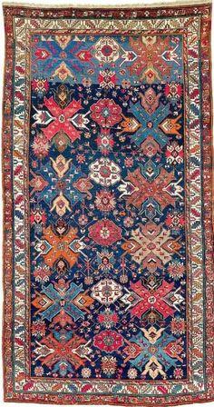 Caucasian Derbent rug, ca 1900