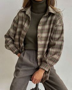 Vintage Outfits, Retro Outfits, Cute Casual Outfits, Casual Clothes, Mode Outfits, Fashion Outfits, K Fashion Casual, 90s Fashion Grunge, Formal Fashion