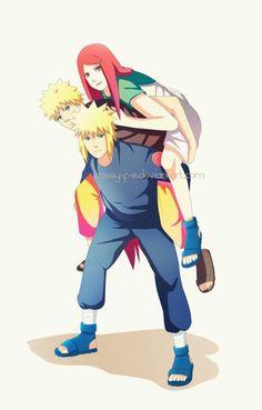 Naruto,Minato and Kushina