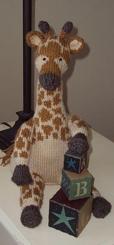 Giraffe Ravelry: williraye's ginger