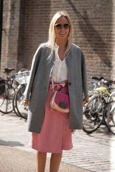 London fashion week street style spring/summer '14