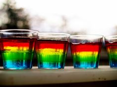 How To Make Rainbow Jello Shots That Bring Another Splash Of Color To Your Pride Party