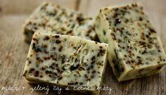 U nás na kopečku: Recept na domácí mýdlo ... Feta, Soap, Bread, Cheese, Brot, Baking, Breads, Bar Soap, Buns
