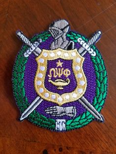 ea0b6574a01 Omega Psi Phi Patch