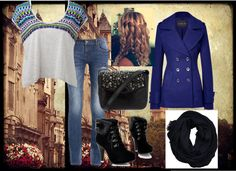 """""""Cold day in London, England but still on a date with Niall :)"""" by bily4242 ❤ liked on Polyvore"""