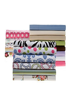 Home Accents® 275 Thread Count Cotton Rich Sheets #belk #bedding #patterns