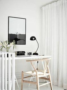 A lovely, light, Swedish split-level