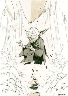 Star Wars - Yoda by Bengal
