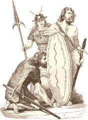 L'héritage que les Gaulois transmirent au reste du monde antique concerne principalement les domaines de l'artisanat : ébénisterie, forge, etc. (le tonneau cerclé de métal, notamment, est une invention gauloise16), des arts culinaires, des arts militaires (la cotte de mailles celtique fut sans doute le modèle utilisé par les Romains et son usage se répandit en Europe au haut Moyen Âge) et de la langue. Il a survécu à travers la culture romaine durant le haut Moyen Âge.