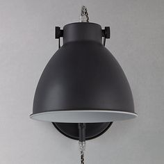 John lewis aiden wall light grey buy john lewis norton wall light with cable online at johnlewis aloadofball Choice Image