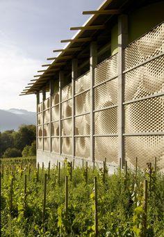 Winery Gantenbein | Fläsch, Switzerland | Gramazio & Kohler + Bearth & Deplazes Architekten