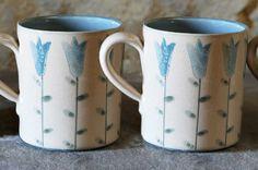 Harebell mugs. www.anta.co.uk