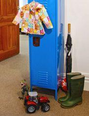 Blue kids locker - My funky Lockers