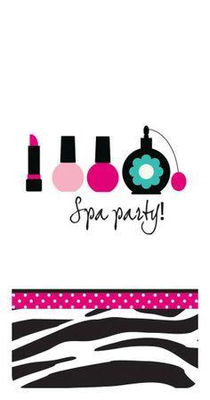 The Pink Zebra Boutique Spa Party swankie hankie Spa Birthday Parties, Slumber Parties, Baby Shower Parties, Birthday Party Themes, Pedicure Party, Spa Pedicure, Pink Zebra Birthday, Baby Spa, Boutique Spa