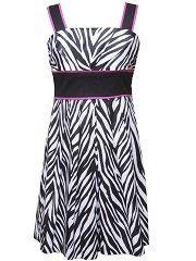 Zebra Print Dresses For Girls