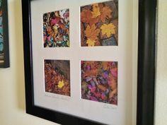 Montford Autumn Sidewalks. Original photographs. 12 x 12