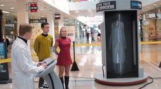 'Star Trek'-Inspired Teleportation Prank Fools Shoppers In A Mall - DesignTAXI.com