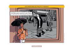 Ex-libris Amazone pour le nouveau Philip et Francis sortie le 12/09/14. Dessin de Nicolas Barral. #Dargaud #BD