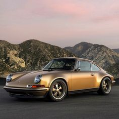 Porsche 911 Singer Vehicle Design