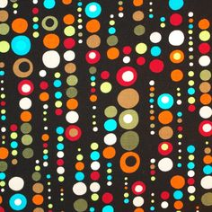 >> Click to Buy << C274 - 1 yard  Cotton Fabric - Dot and circle (width=140cm) #Affiliate