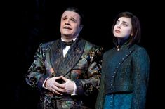 Gomez (Nathan Lane) and Wednesday (Krysta Rodriguez) - The Addams Family Musical Addams Family Wednesday, Die Addams Family, Adams Family, Theatre Nerds, Music Theater, Addams Family Broadway, Bebe Neuwirth, Theatre Costumes, Family Costumes