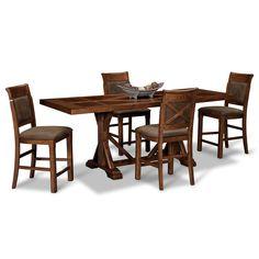Roanoke Counter Dining. Star Furniture | Beautiful Things | Pinterest |  Organizations