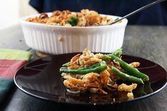 from scratch green bean casserole!