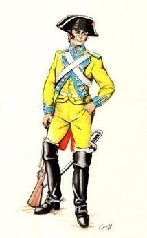 España-  Caballeria, Dragones de Almanza_1810-1814
