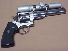 Ruger Redhawk .44 Magnum SS with Burris Scope