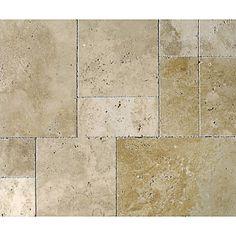 Giallo Tumbled Travertine Tiles 2 99 Sqft