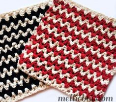 Free-Crochet-Dishcloth-Pattern-Zigzag