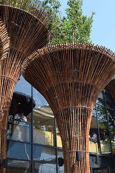 Vietnam pavilion at Expo Milan 2015 #raiexpo #expo2015 #italy #milan #worldsfair #architecture #vietnam #pavilion