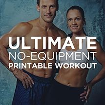 Ultimate At-Home No Equipment Printable Workout Routine –Customize & Print