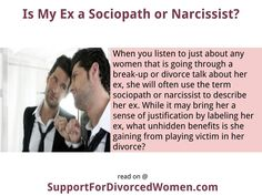 Is my husband a narcissist or sociopath