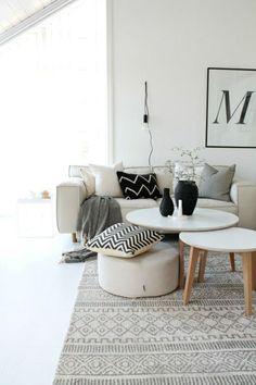 Déco Salon Gris Super Idées Pleines De Charme Salons Gris - Canapé 3 places pour deco interieur design