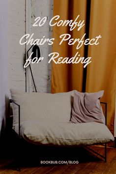 These comfy reading chairs would be a great update to your home library, reading nook, or really any corner of your home. #reading #chairs #readingchairs Comfy Reading Chair, Reading Nook Kids, Reading Chairs, Nook Ideas, Book Nooks, Great Books, Book Lovers, Home Goods, Corner