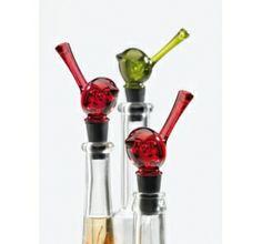 Bouchon décoratif - PI:P by Koziol - Rouge transparent 11,20 € www.ac-deco.com #fun #design #oiseau #bouchon