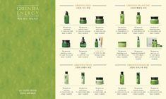 "Leaflet for innisfree ""Jeju Greentea"" line Yearbook Pages, Yearbook Spreads, Yearbook Layouts, Magazine Layout Design, Book Design Layout, Design Design, Corporate Brochure Design, Brochure Layout, Booklet Design"