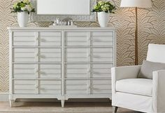 Seasonless White - Fresh is always in style, and this selection of crisp accents and furniture brings refined appeal to any space. Mix and match white and cream finishes to anchor a room of colorful accents, or fill your den with peaceful hues for a harmonious look.