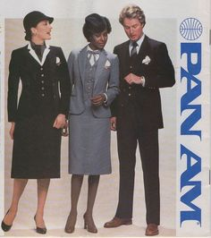 #BringingBackTheGlamour Pan Am In July 1980 Pan Am introduced this new Adolfo designed uniform for its crew.