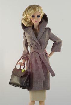 prepare for (FR nu.face body) set inc.: coat, dress, bag, shoes.