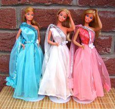 Superstar Barbie 1977 | Jetzt habe ich gesehen, dass es noch eine weitere, gelbe Variante gibt ...