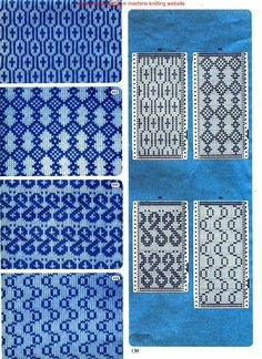 "Photo from album ""Punch Card Pattern on Yandex. Fair Isle Knitting Patterns, Knitting Machine Patterns, Fair Isle Pattern, Crochet Stitches Patterns, Knitting Charts, Knitting Stitches, Knitting Designs, Stitch Patterns, Fair Isle Chart"
