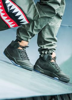 Nike Air Jordan V Retro Premium Take Flight - 2017 (by maks_streetlife)