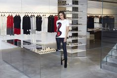 Grand Opening Across The Pond: Victoria Beckham Unveils First London Store- http://getmybuzzup.com/wp-content/uploads/2014/09/369622-thumb.jpg- http://getmybuzzup.com/victoria-beckham-unveils-first/- By Don Bleek English businesswoman, fashion designer and former singer Victoria Beckham has been focusing on expanding her fashion empire and she is serious. Beckham has unveiled her first London store on Dover Street which will open tomorrow Thursday (September 25). The 6,040-sq