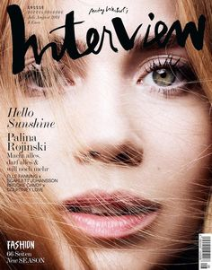 Interview Germany July/August 2014 Covers | Palina Rojinski by Horst Diekgerdes